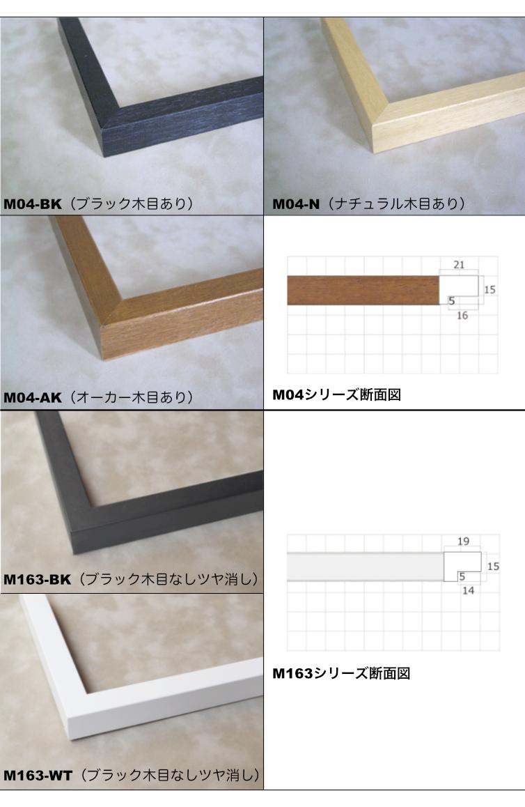 M04/M163シリーズ額装フレーム
